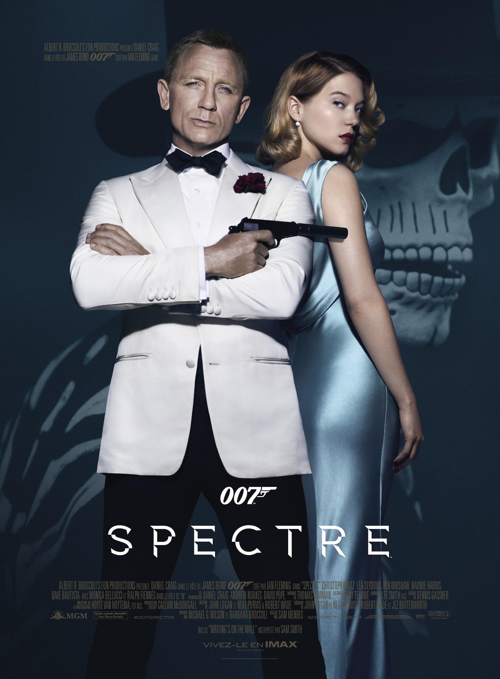 007 spectre 2015 un film de sam mendes news date de sortie critique bande. Black Bedroom Furniture Sets. Home Design Ideas