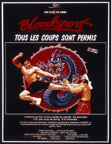 bloodsport tous les coups sont permis 1987 un film de newt arnold news date. Black Bedroom Furniture Sets. Home Design Ideas