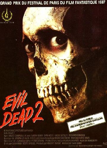 evil dead 2 1987 un film de news date de sortie critique bande annonce vo. Black Bedroom Furniture Sets. Home Design Ideas