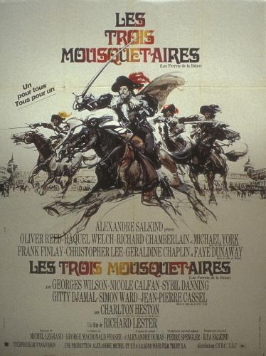 les trois mousquetaires 1973