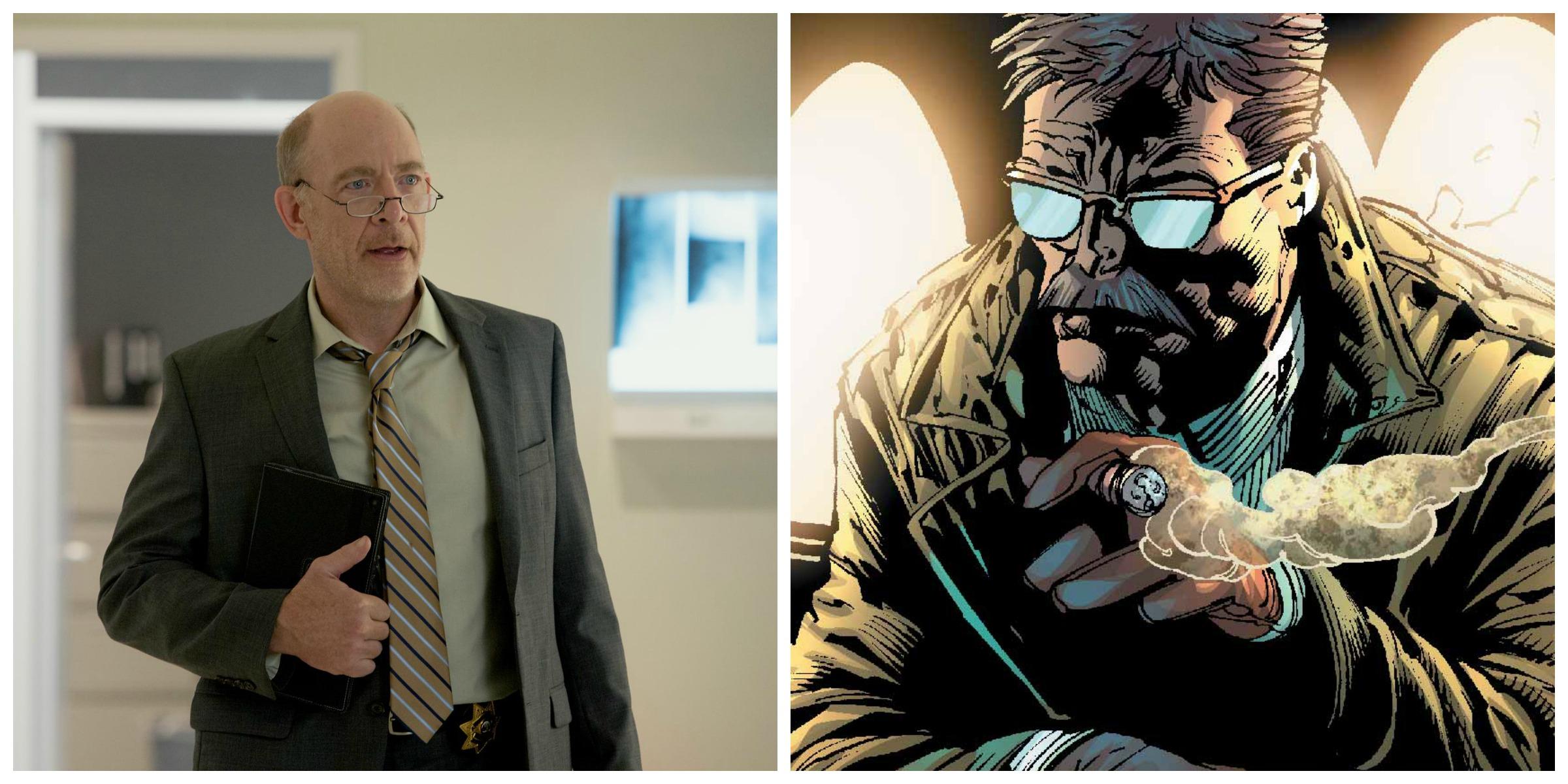 Justice League : J.K. Simmons sera le commissaire Gordon