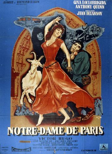 notre dame de paris 1956 un film de jean delannoy news date de sortie. Black Bedroom Furniture Sets. Home Design Ideas