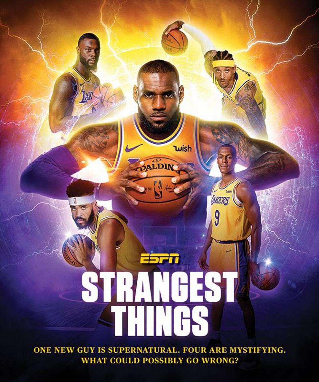 Et si les équipes NBA étaient des séries US ?