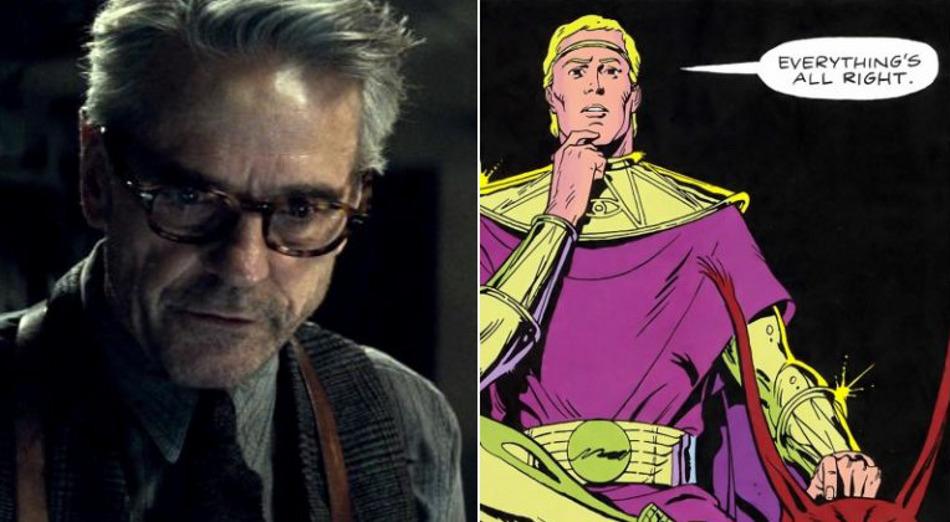 Jeremy Irons jouera Ozymandias dans la série Watchmen de HBO | Premiere.fr