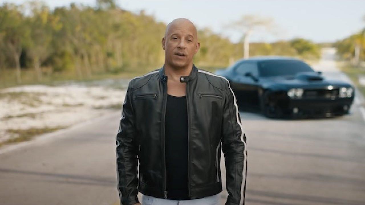 Vin Diesel fait la promo de Fast & Furious 9 pendant les Oscars