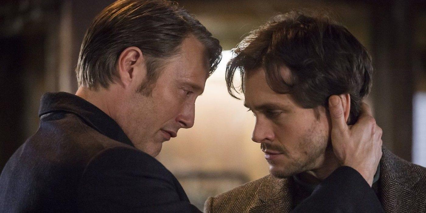 Mads Mikkelsen et Hugh Dancy voulaient un baiser gay dans Hannibal
