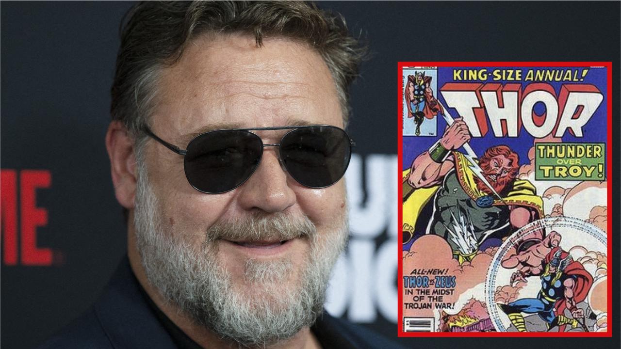 Russell Crowe révèle avec humour qu'il joue Zeus dans Thor 4