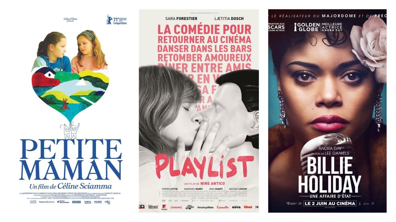 Petite maman, Playlist, Billie Holiday, une affaire d'Etat: Les nouveautés au cinéma cette semaine