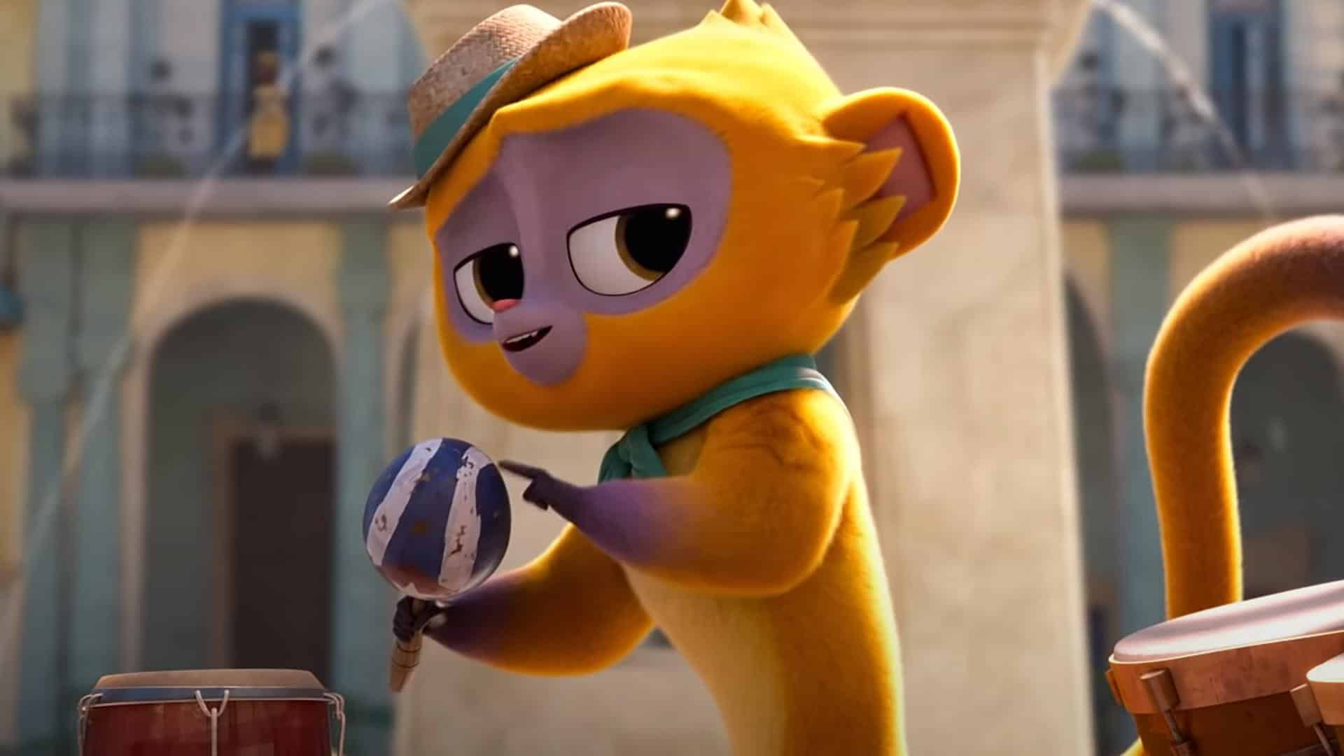 Premier trailer pour Vivo, le nouveau film d'animation musical de Netflix