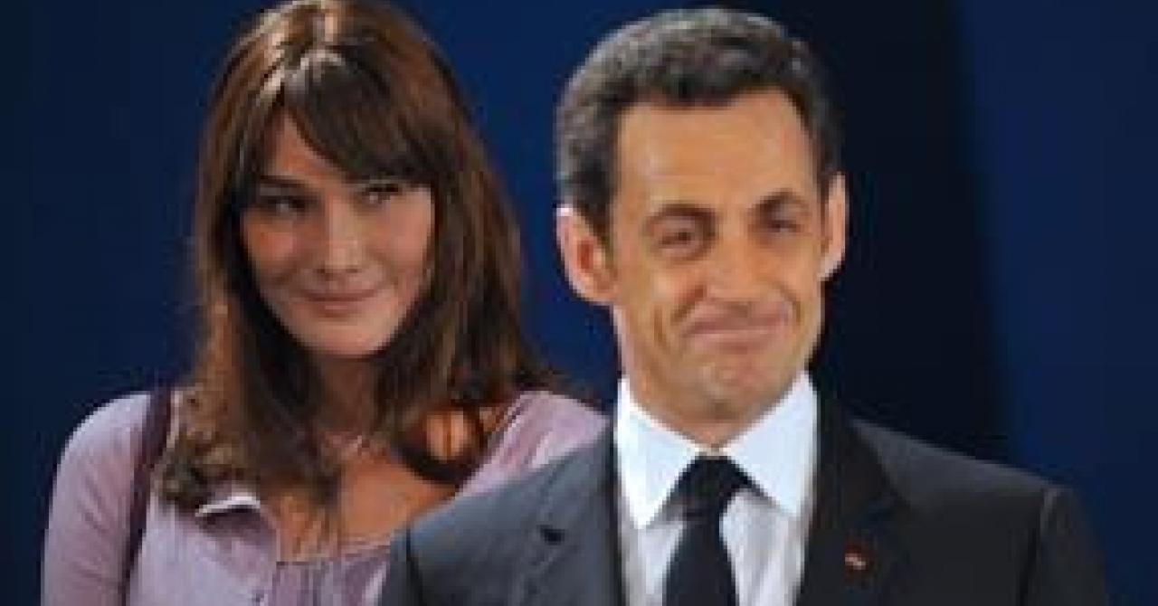 Nicolas Sarkozy Et Carla Bruni De Retour Au Bercail Apres Des Vacances Agitees Premiere Fr