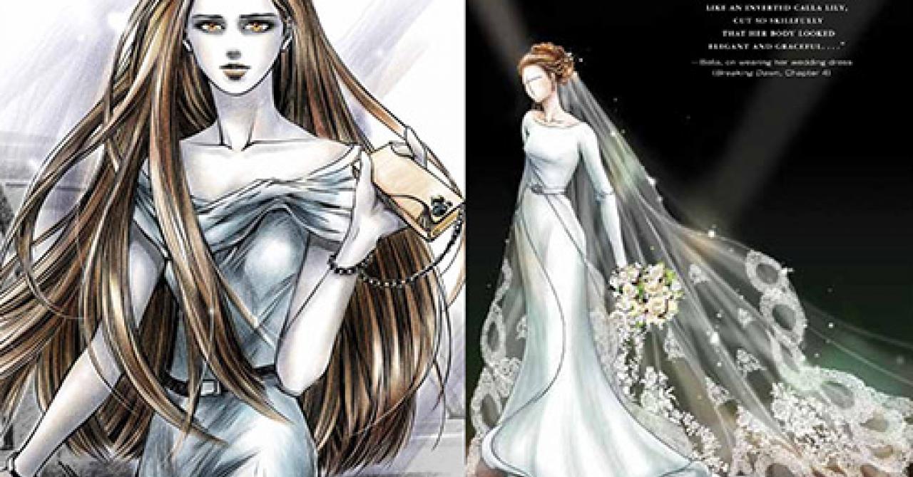 PHOTO - Twilight 4 : on sait à quoi va ressembler la robe de mariée de Bella | Premiere.fr