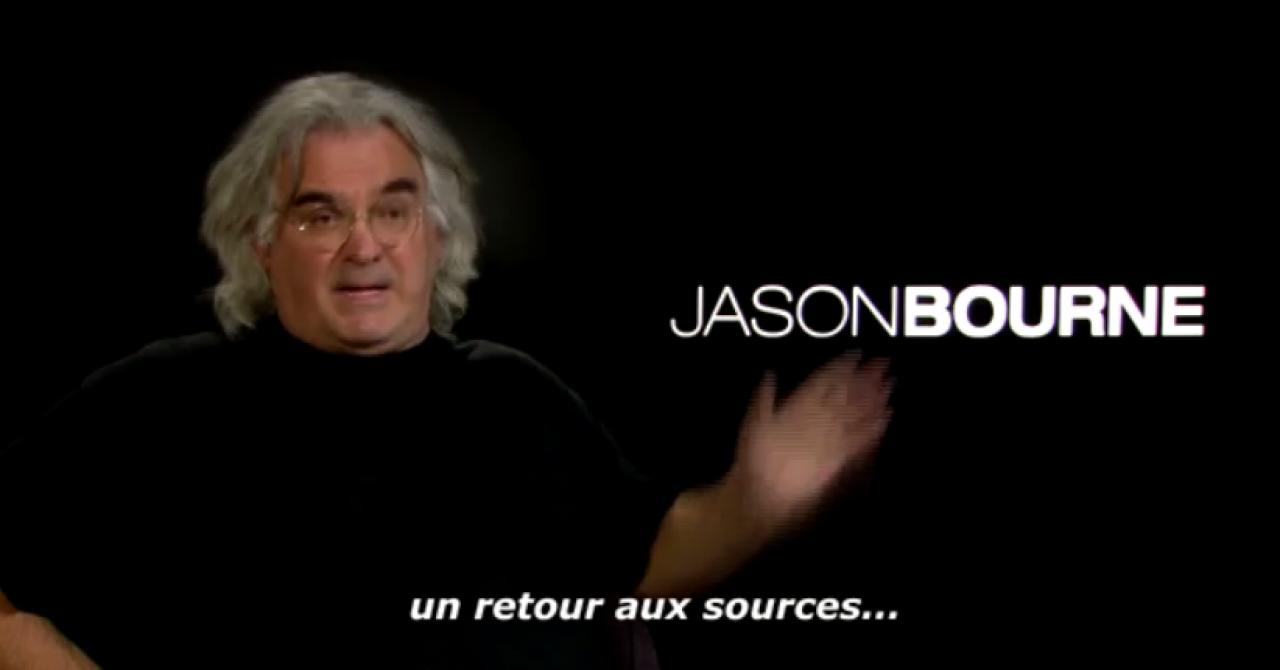 """Paul Greengrass : """"Jason Bourne, c'est le meilleur de la culture pop"""""""