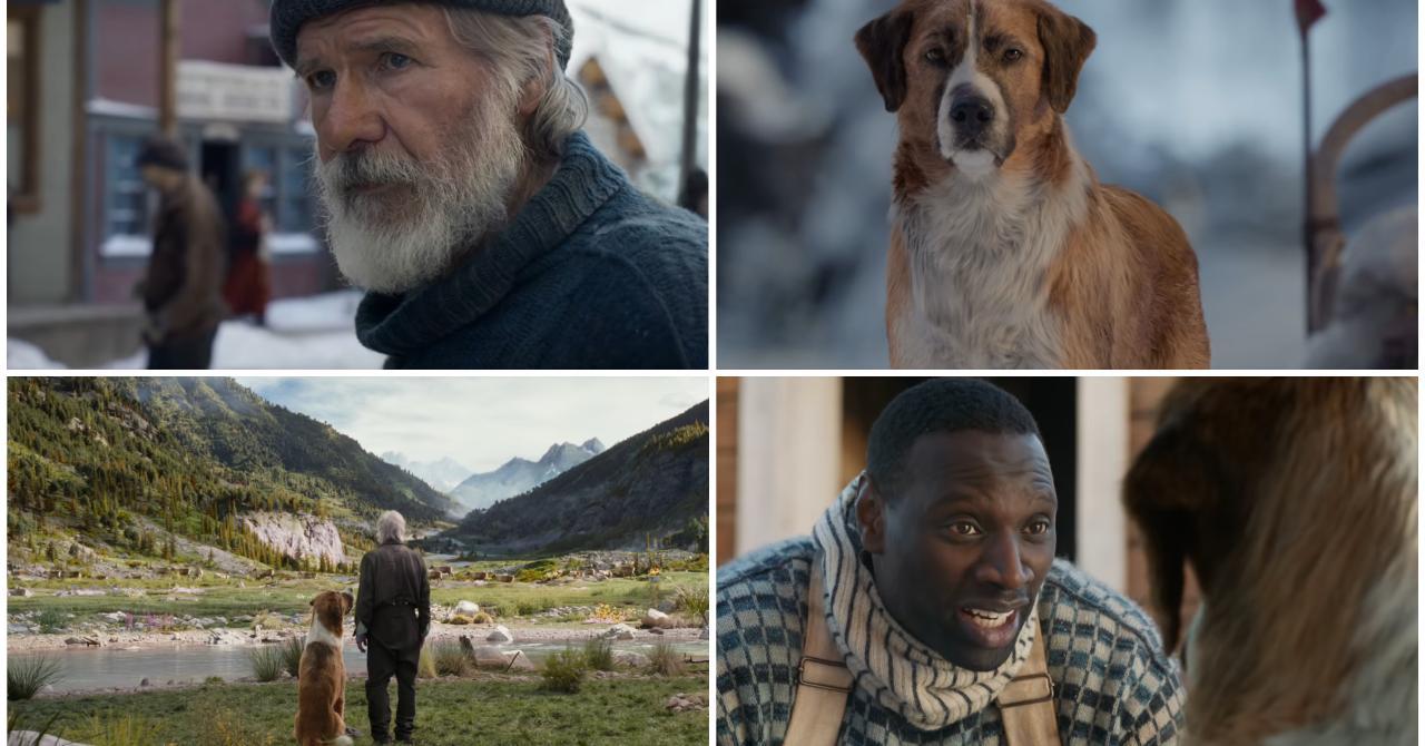 L Appel De La Forêt Première Bande Annonce épique Avec Harrison Ford Et Omar Sy Premiere Fr