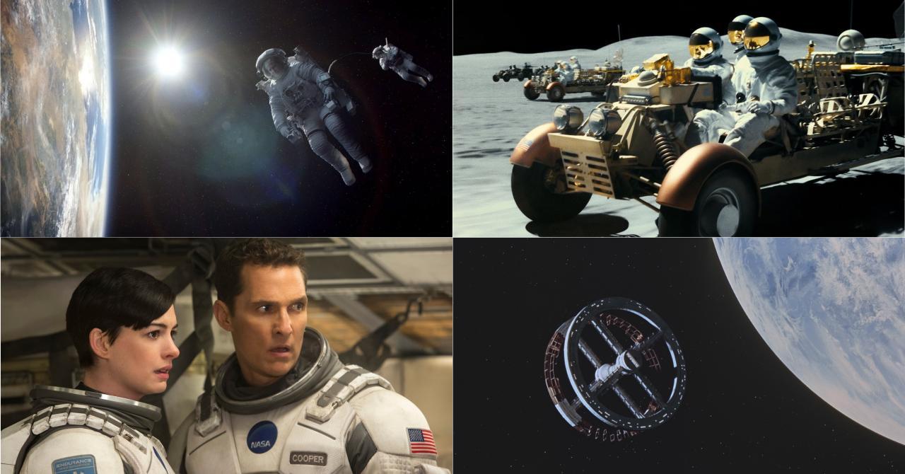 De Gravity à Interstellar, un astronaute donne son avis sur les films qui se déroulent dans l'espace