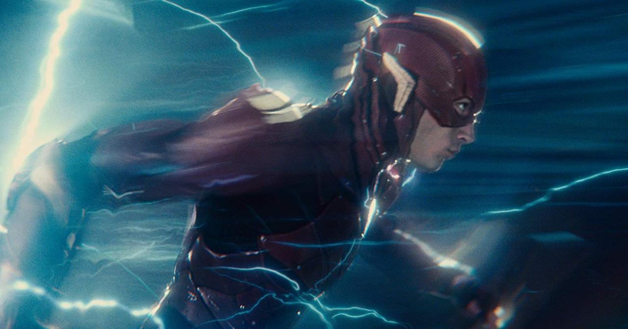 The Flash : le scénario de Grant Morrison et Ezra Miller s'inspirait de Retour vers le futur