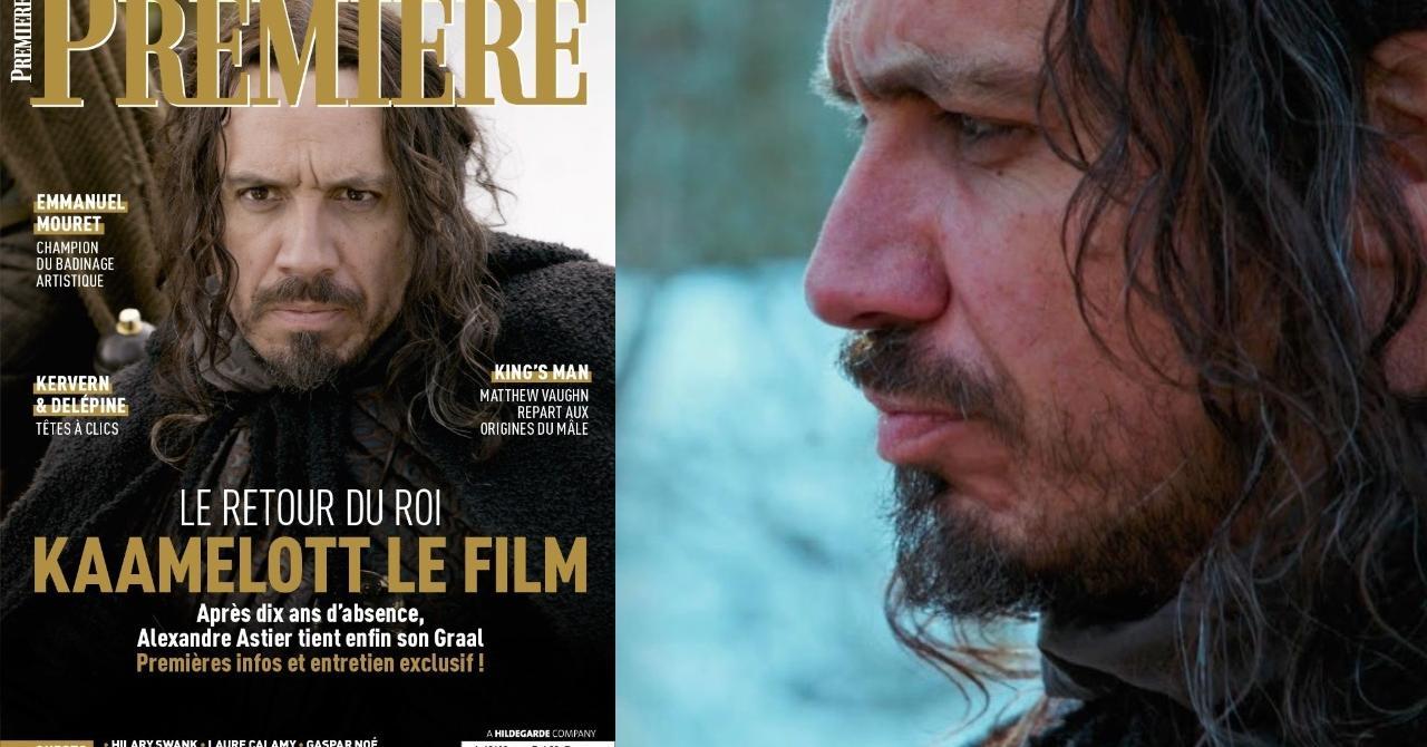 """Exclu – Alexandre Astier: """"Je me dis que Kaamelottétait fait pour le cinéma"""""""