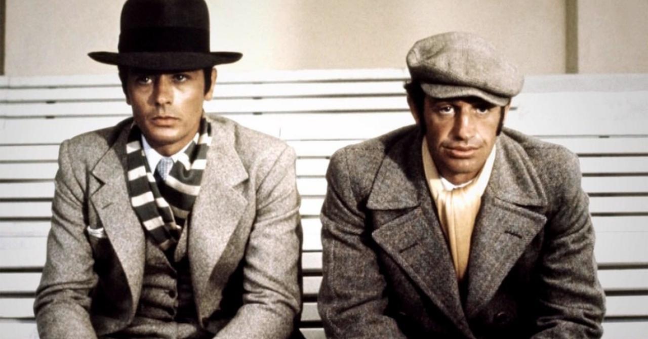 Le saviez-vous ? Borsalino, film culte avec Delon et Belmondo, a été privé de télé pendant 12 ans