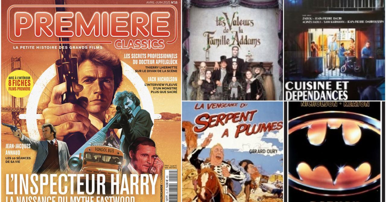 Au sommaire de Première Classics n°15 : L'inspecteur Harry, Jean-Pierre Bacri, Jack Nicholson, Christopher Lloyd…