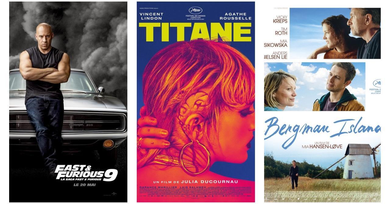 Fast & Furious 9, Titane, Bergman Island : Les nouveautés au cinéma cette semaine