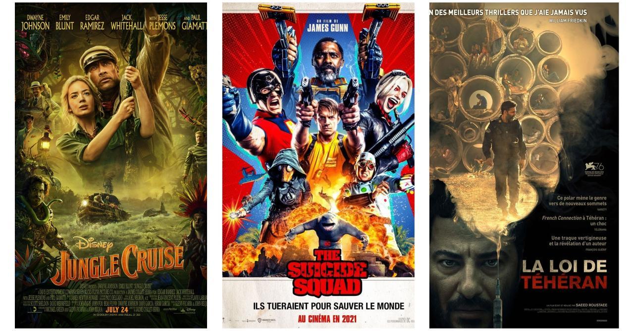 Jungle cruise, The Suicide Squad, La Loi de Téhéran: Les nouveautés au cinéma cette semaine