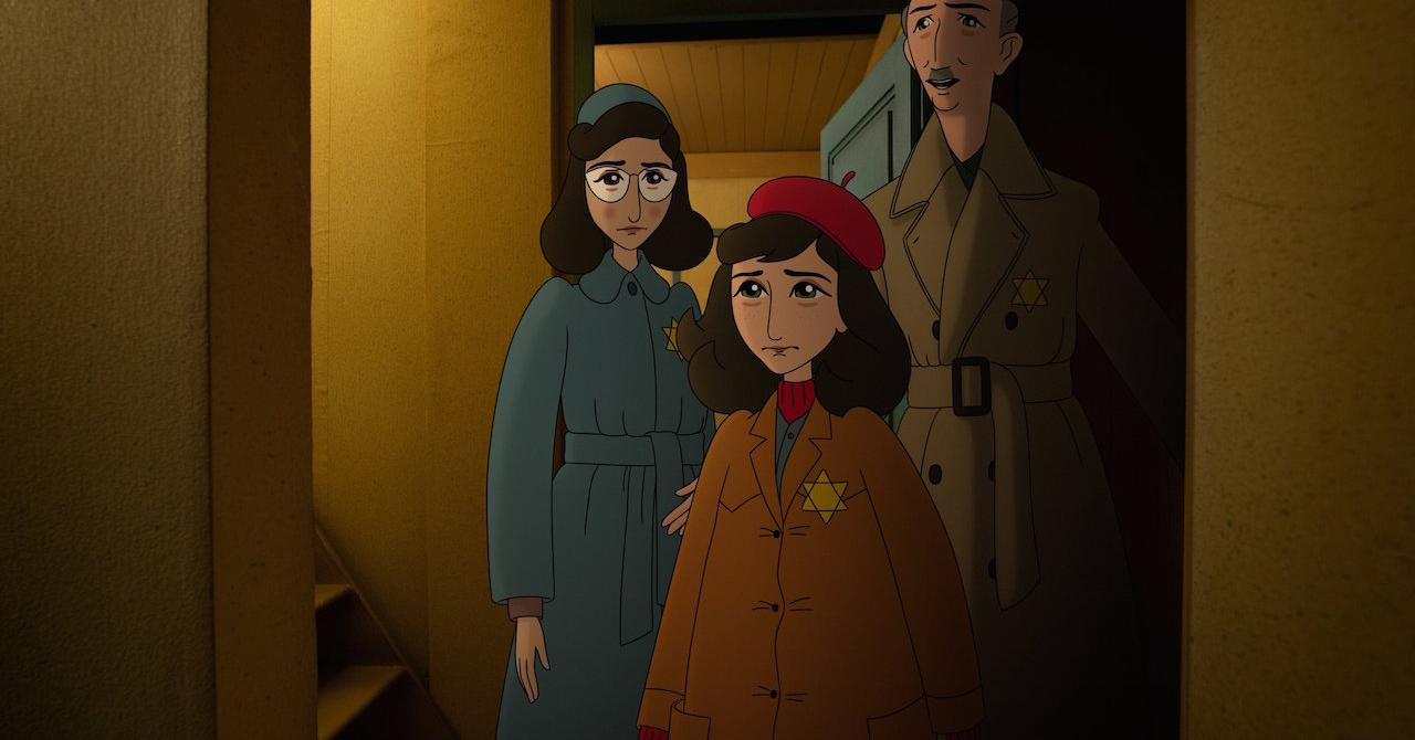 Read more about the article Where's Anne Frank!  : the sublime trailer for the new Ari Folman, selected at Cannes [exclu]