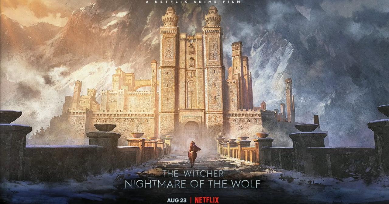 Le film d'animation Netflix The Witcher : le cauchemar du Loup s'offre un premier teaser