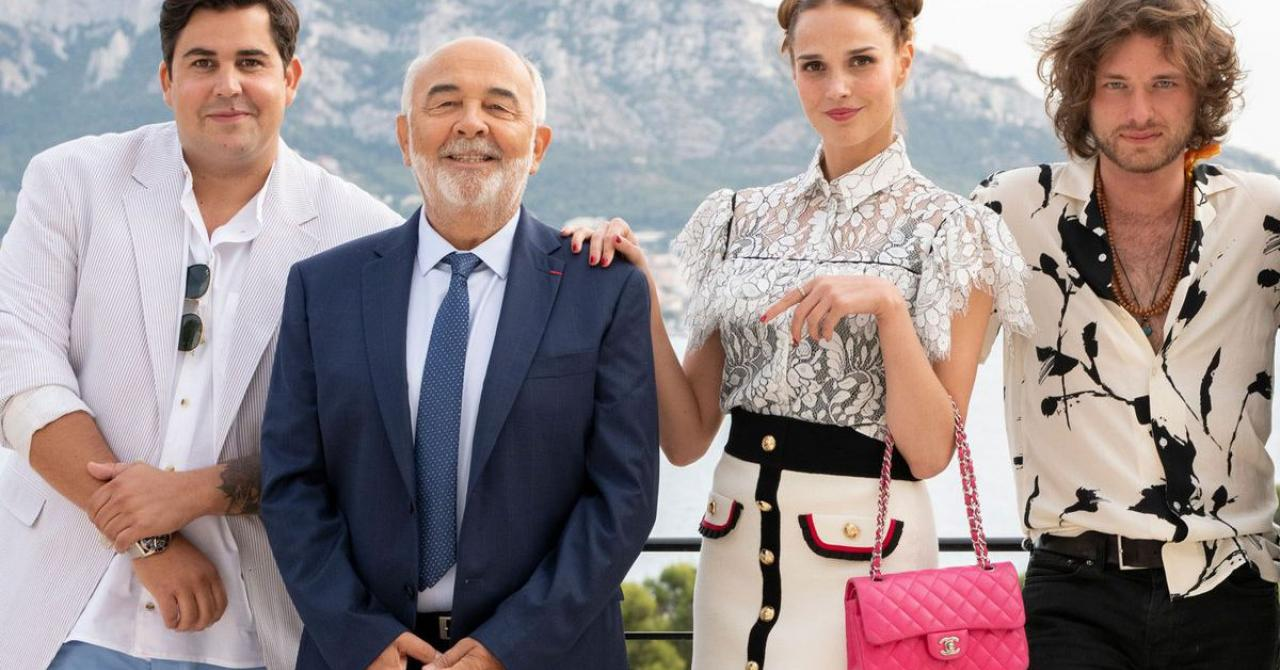 Gérard Jugnot est le papa de Camille Lou et Artus dans la bande-annonce de Pourris gâtés