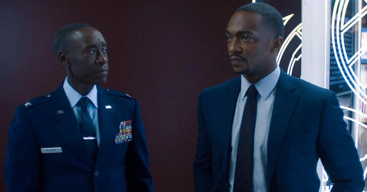 90 secondes dans Falcon et le soldat de l'hiver et une nomination aux Emmys ? Même Don Cheadle hallucine !