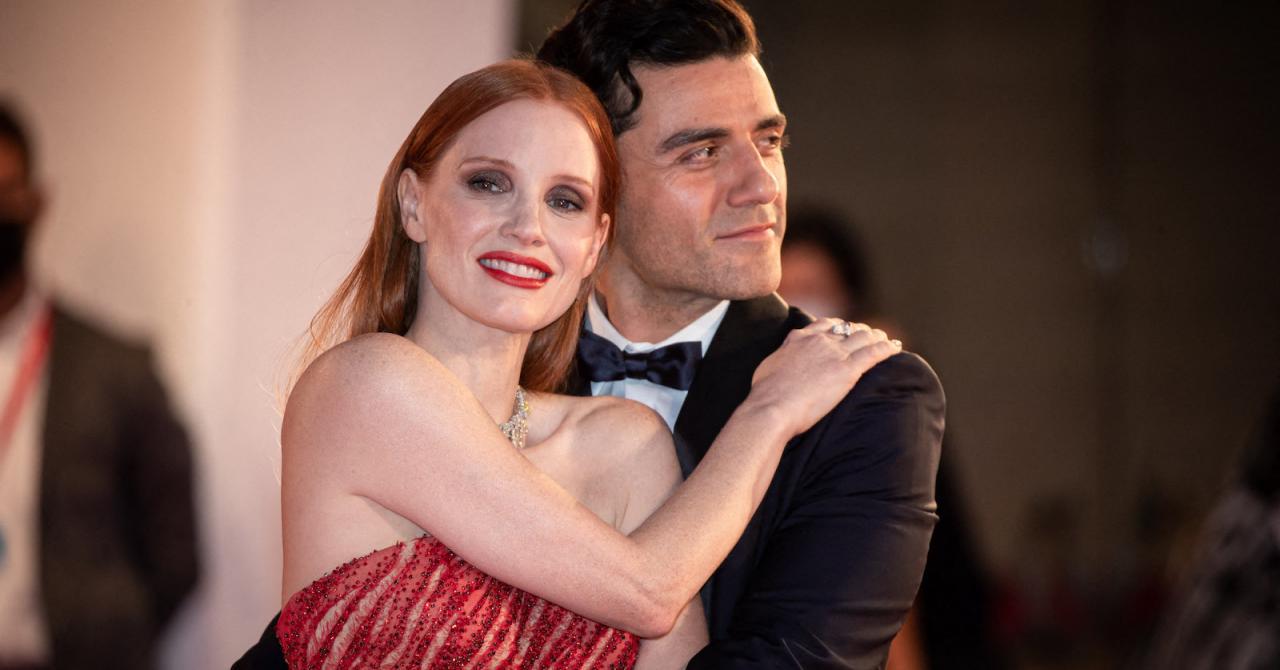 Jessica Chastain et Oscar Isaac enflamment le tapis rouge de Venise