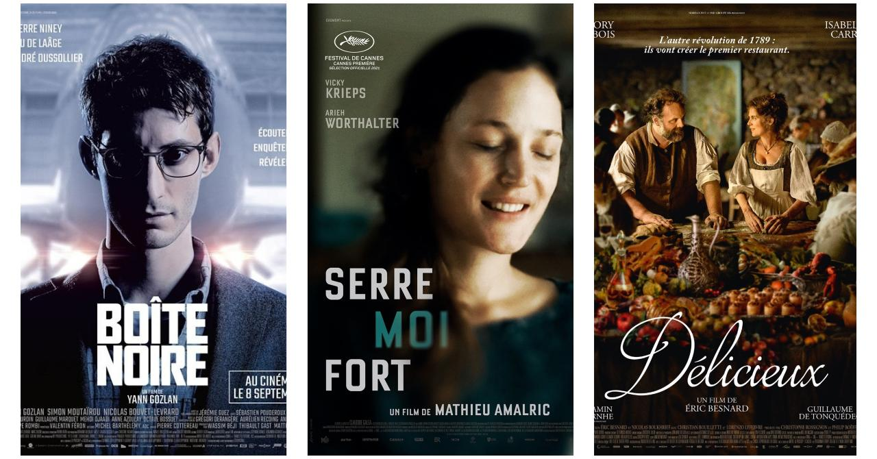 Boîte noire, Serre moi fort, Délicieux : les nouveautés au cinéma cette semaine