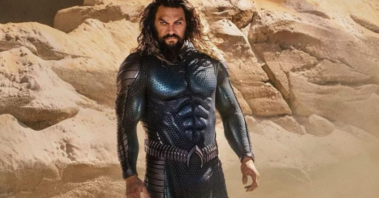 Jason Momoa dévoile son nouveau costume pour Aquaman 2