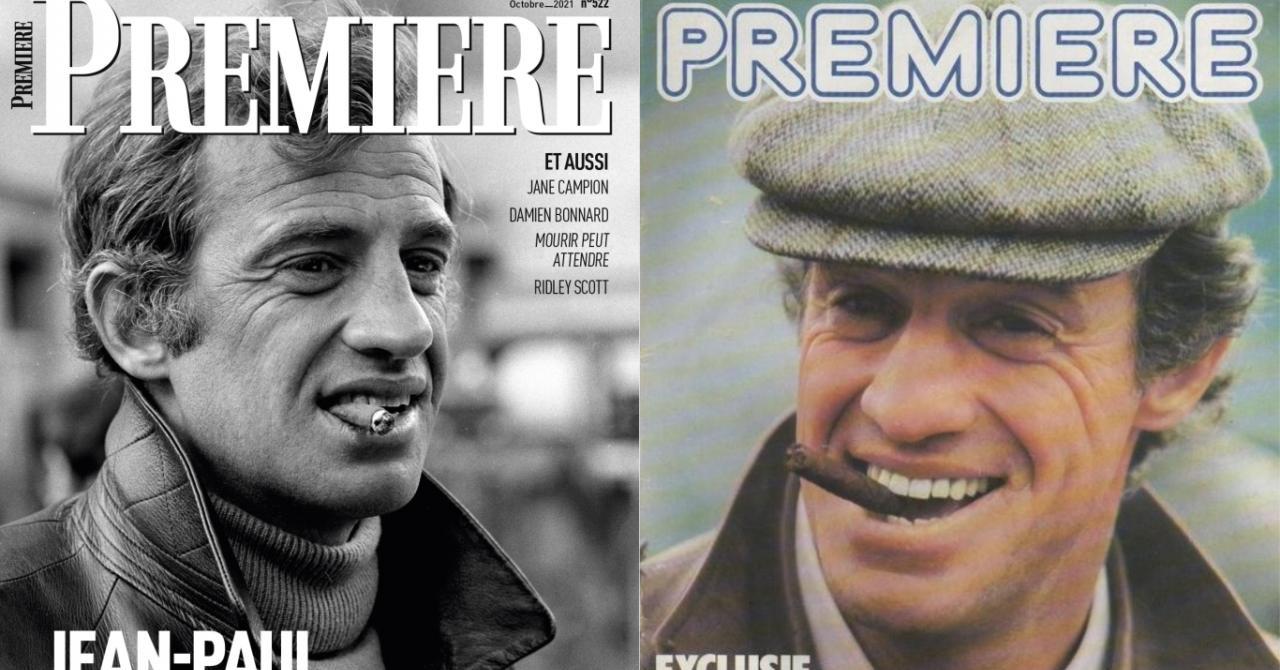 Jean-Paul Belmondo : retour sur ses couvertures de Première