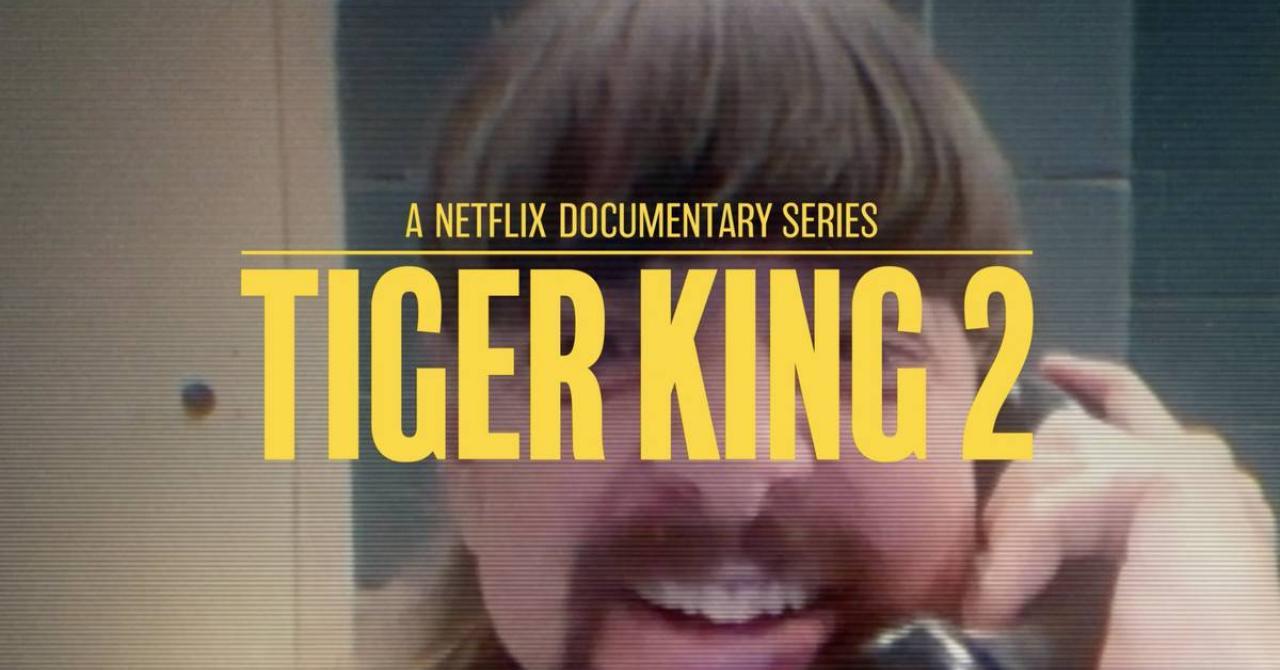 Netflix annonce la saison 2 de Tiger King dans ce premier teaser