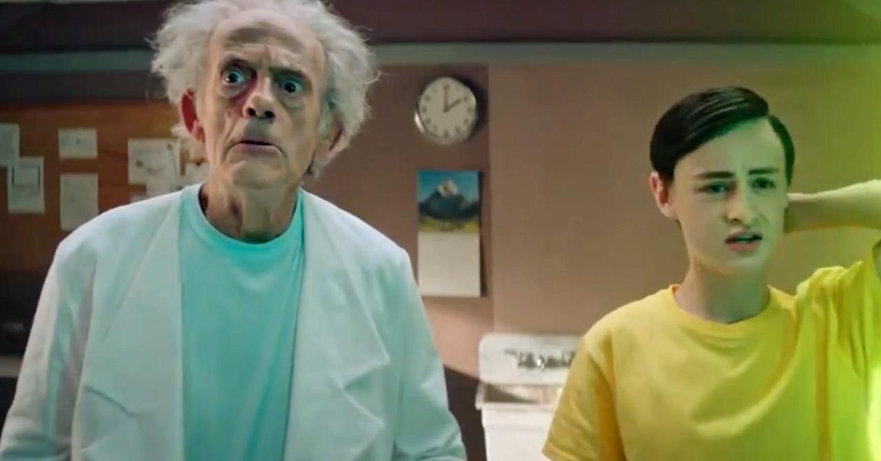 Christopher Lloyd s'invite dans le premier Rick et Morty en live action