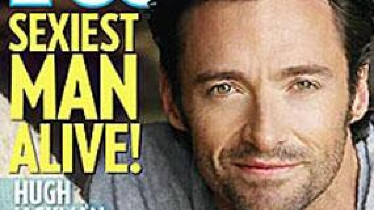 Hugh Jackman, lhomme le plus sexy du monde - Elle