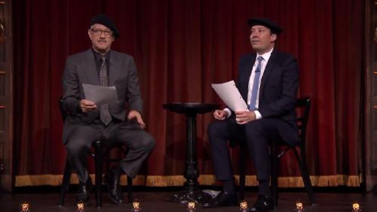 Tom Hanks Joue Le Pont Des Espions Ecrit Par Des Enfants