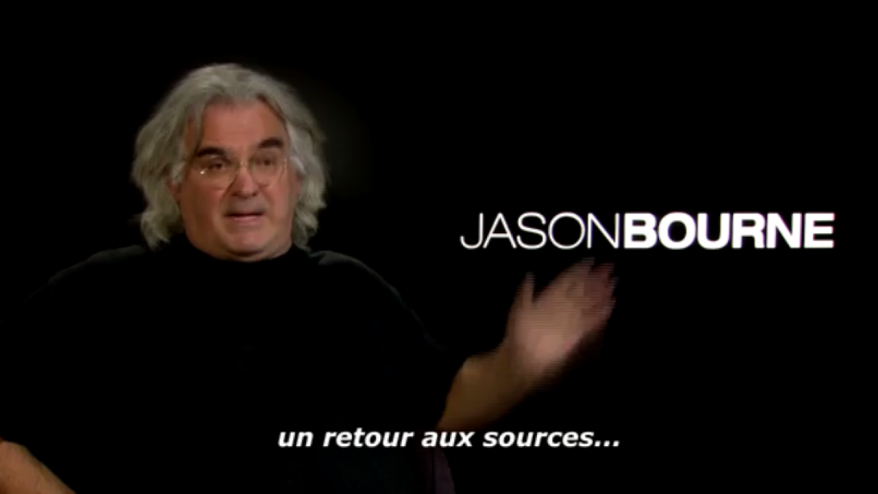 Paul Greengrass Jason Bourne