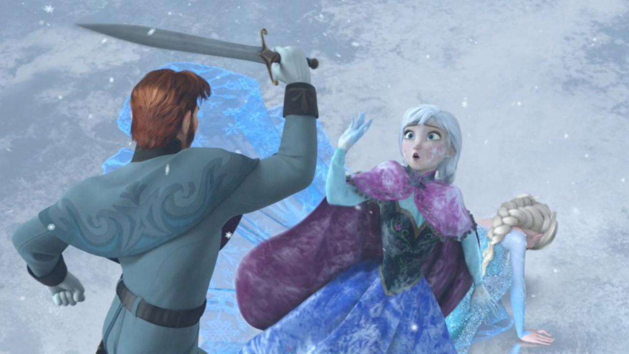 Avalanche monstres de neige et han solo la fin de la - Fin de la reine des neiges ...