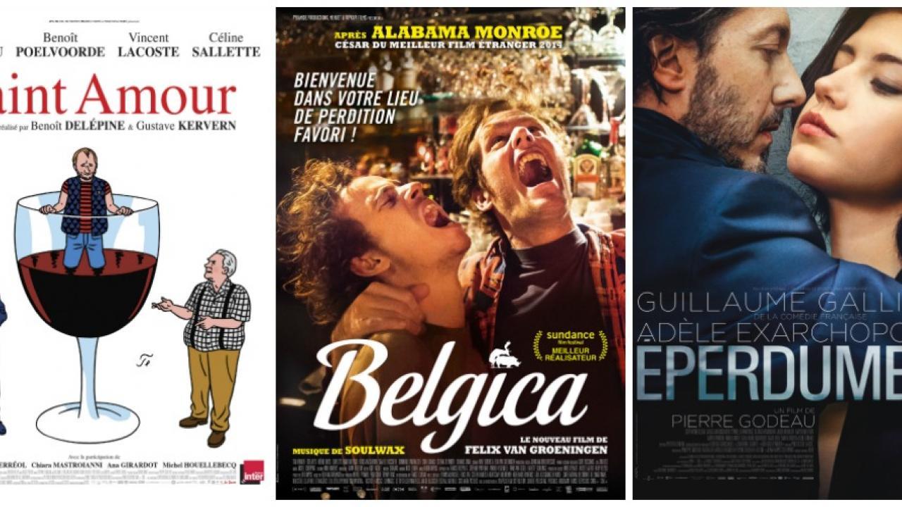 Les sorties ciné de la semaine du 2 mars : Belgica, Saint-Amour, Eperdument...