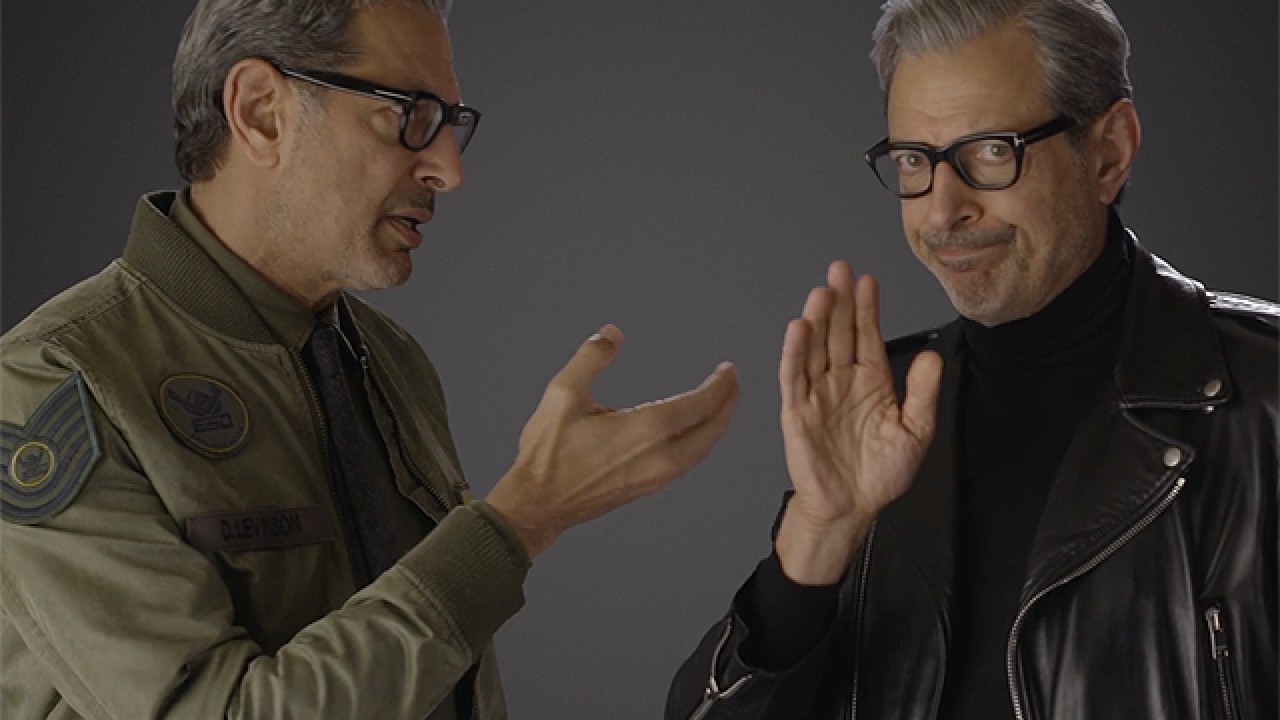 Jeff Goldblum vs. Jeff Goldblum : la théorie du complot