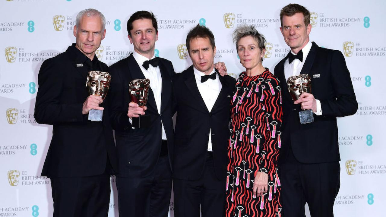 Bafta 2018 : 3 Billboards triomphe aux Oscars anglais (palmarès complet)