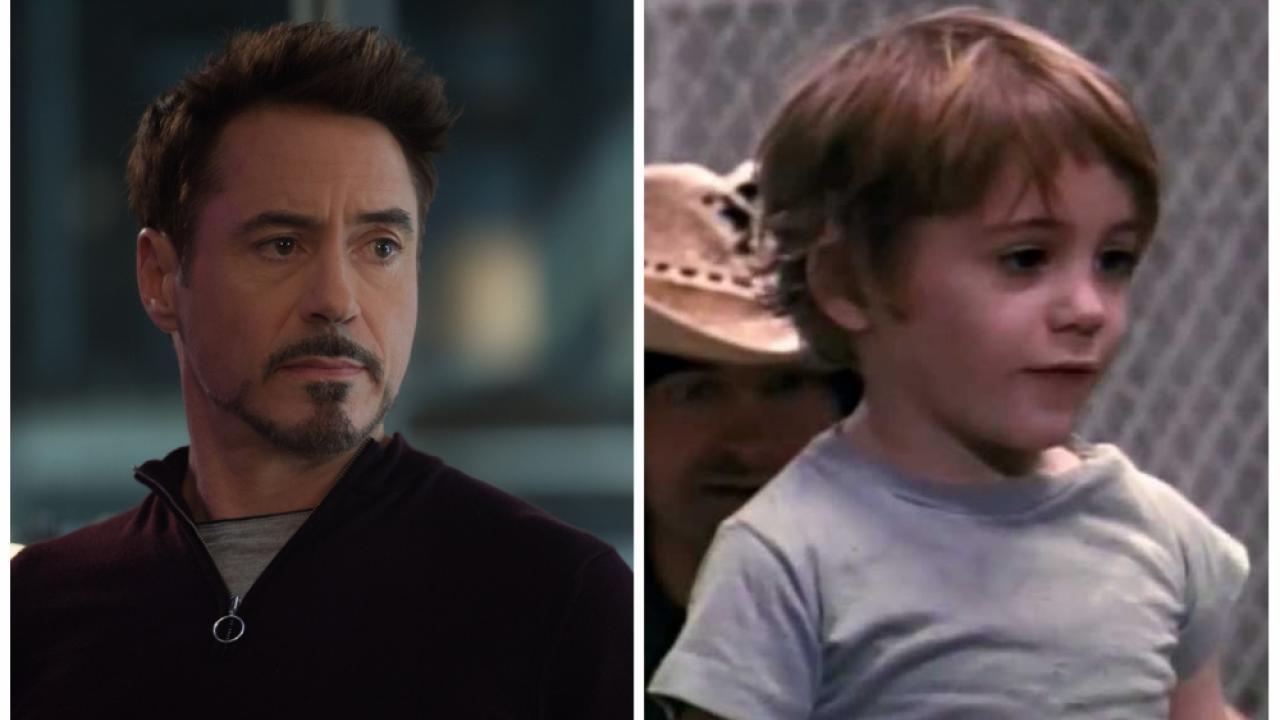 La première apparition de Robert Downey Jr ? C'était dans Pound à ...