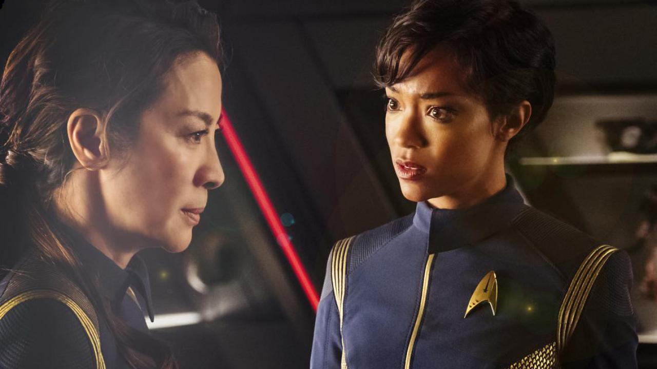 Star trek discovery officiers