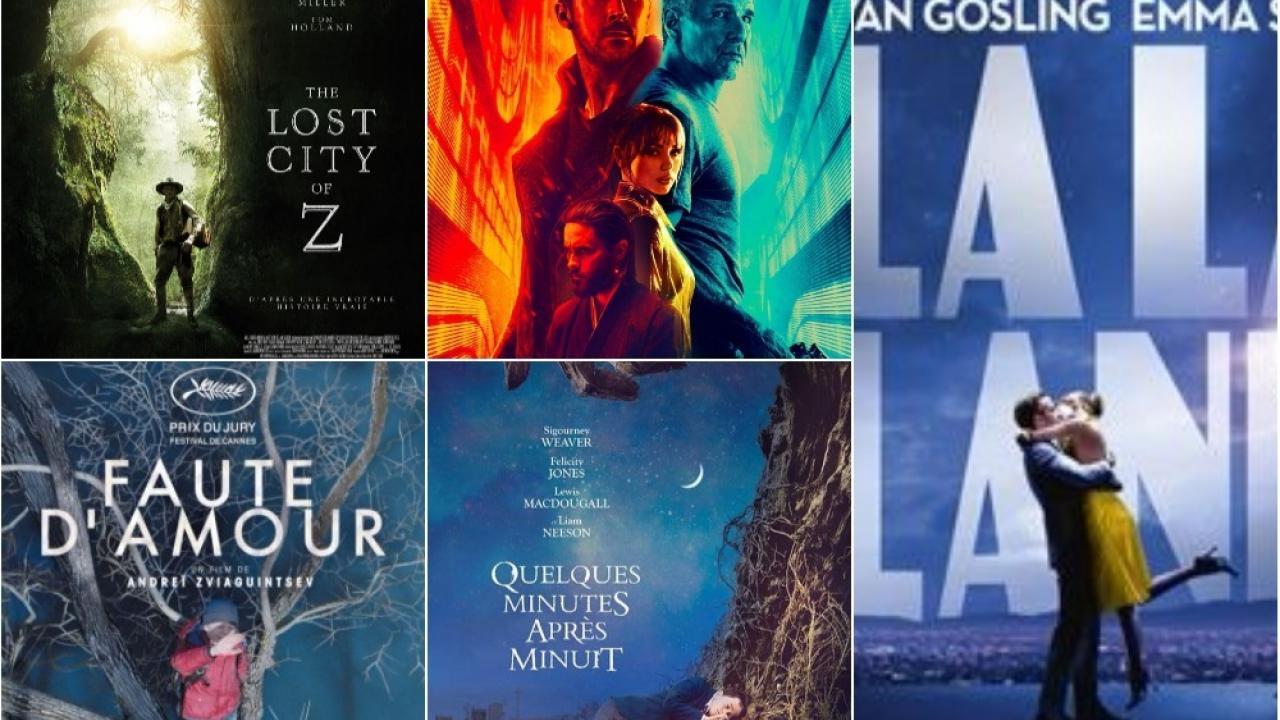 Top 10 des films 2017 de la rédaction