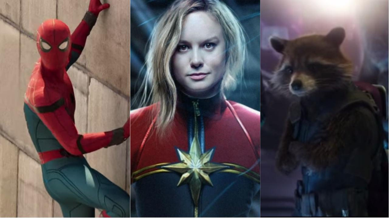 Marvel - Phase 4 - Captain Marvel - Spider-Man - Gardiens de la galaxie