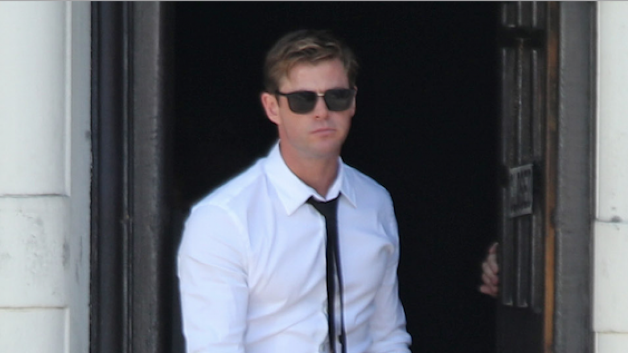 Chris Hemsworth tournage Men In Black 4