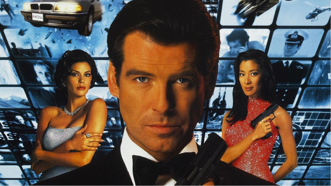 James Bond Tomorrow never dies