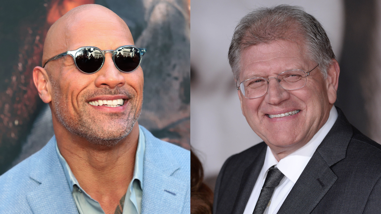 Dwayne Johnson Robert Zemeckis The King