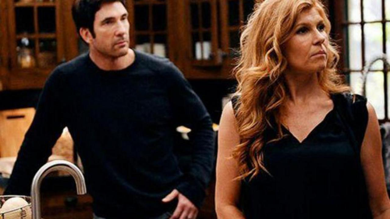 American Horror Story Connie Britton et Dylan McDermott