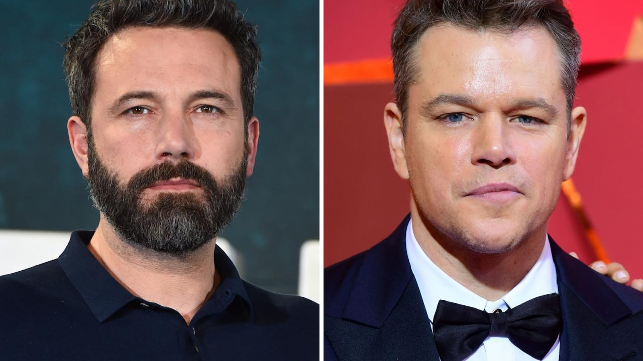 Ben Affleck et Matt Damon sur le film — McDonald's Monopoly Game